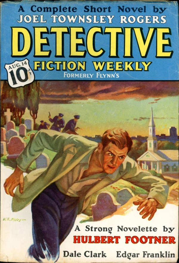 DETECTIVE FICTION WEEKLY. August 14, 1937