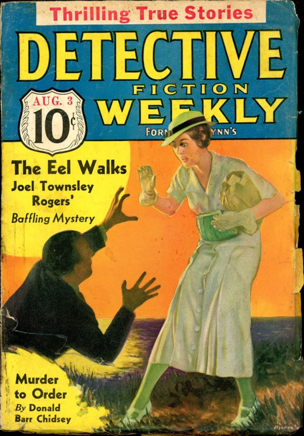 DETECTIVE FICTION WEEKLY. August 3, 1935
