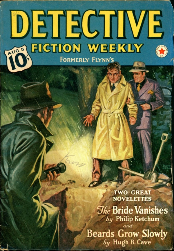 DETECTIVE FICTION WEEKLY. August 5, 1939