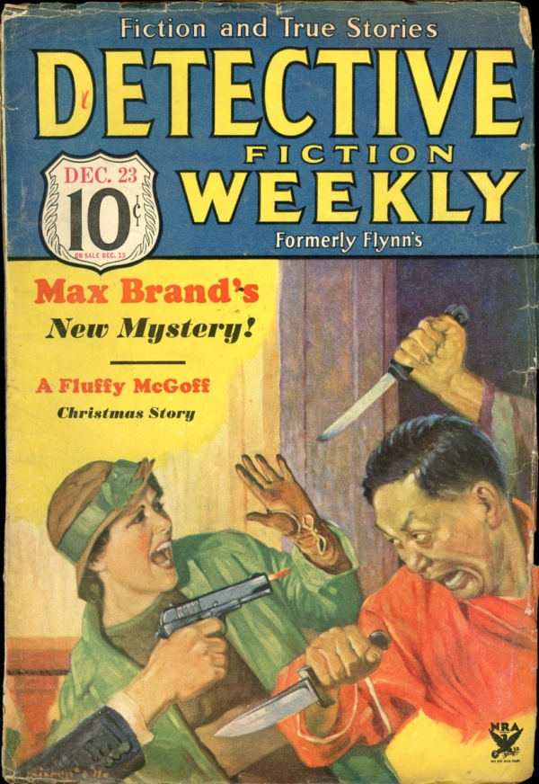 DETECTIVE FICTION WEEKLY. December 23, 1933