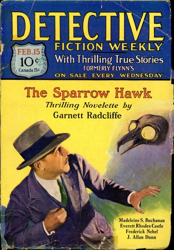 DETECTIVE FICTION WEEKLY. February 15, 1930