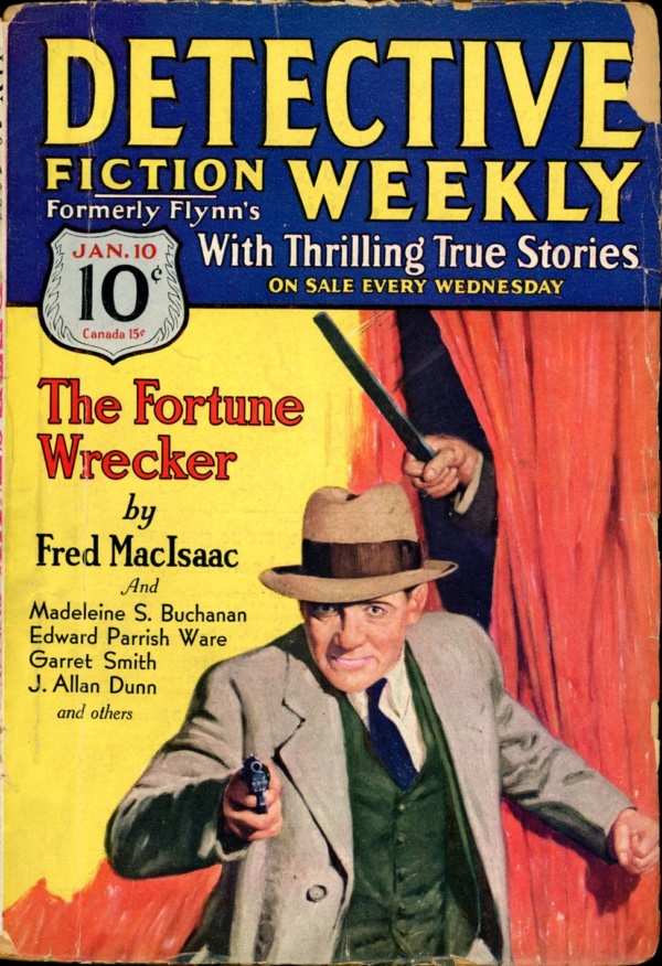 DETECTIVE FICTION WEEKLY. January 10, 1931