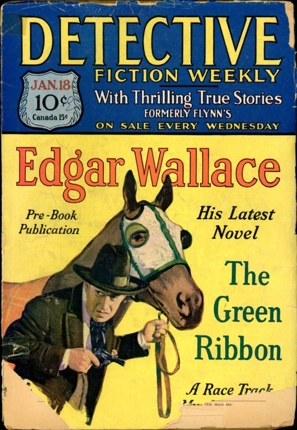 DETECTIVE FICTION WEEKLY. January 18, 1930