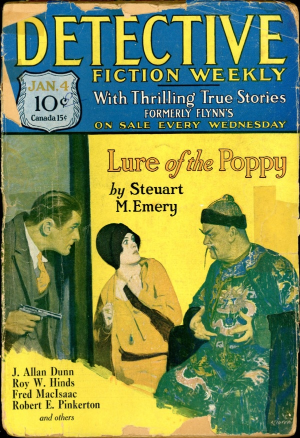 DETECTIVE FICTION WEEKLY. January 4, 1930