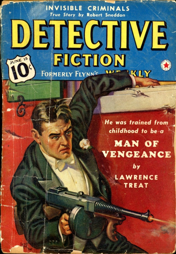 DETECTIVE FICTION WEEKLY. June 15, 1940