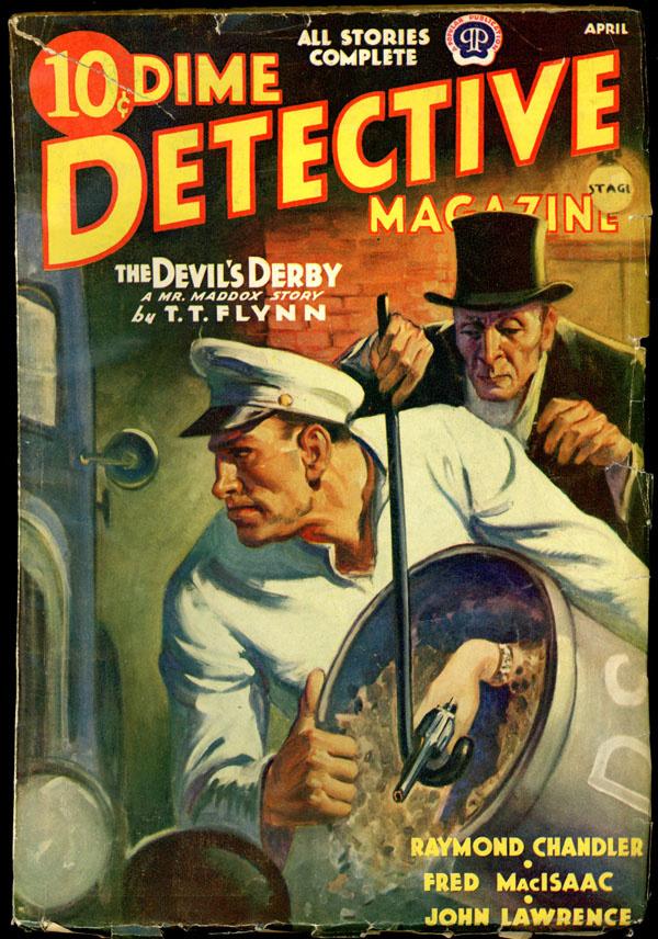 DIME DETECTIVE MAGAZINE. April, 1939