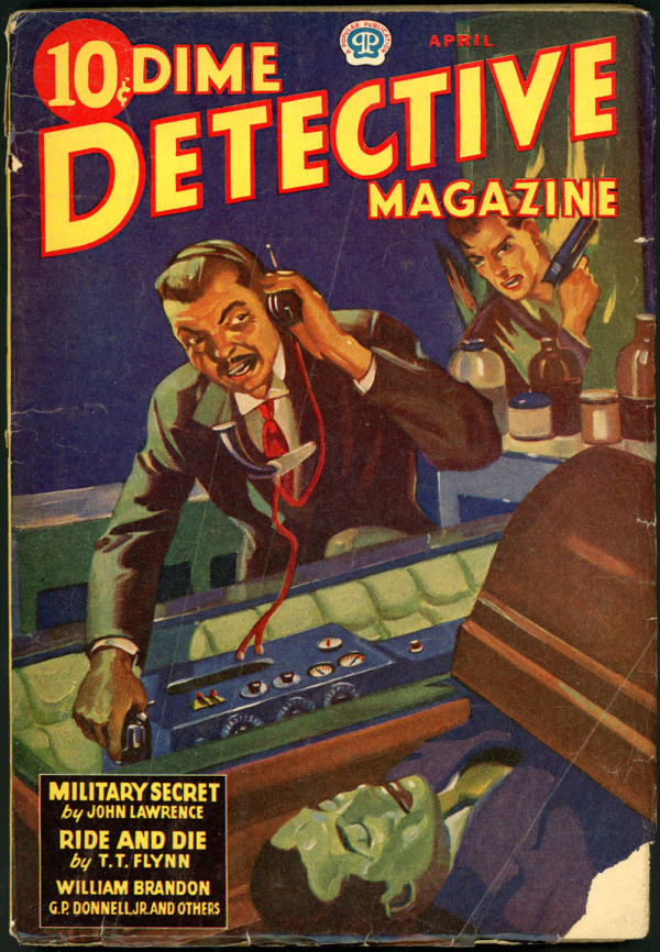 DIME DETECTIVE. April 1943