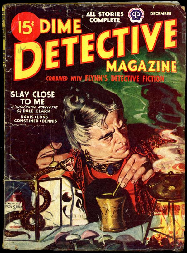 DIME DETECTIVE. December, 1945