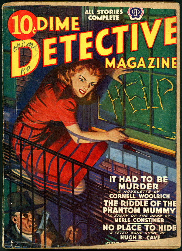 DIME DETECTIVE. February 1942