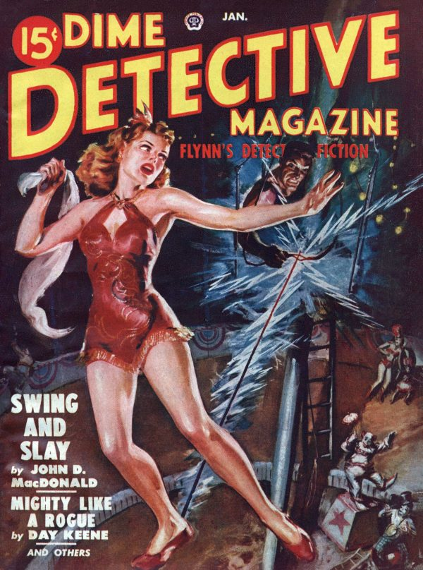 Dime Detective January 1950