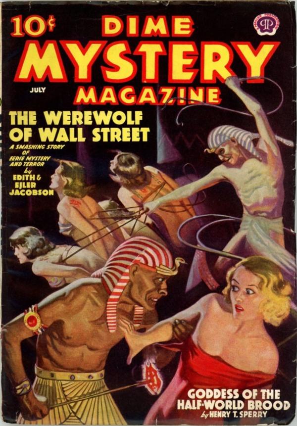 Dime Mystery Magazine July 1938