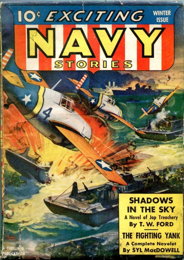 Exciting Navy Stories Winter 1943