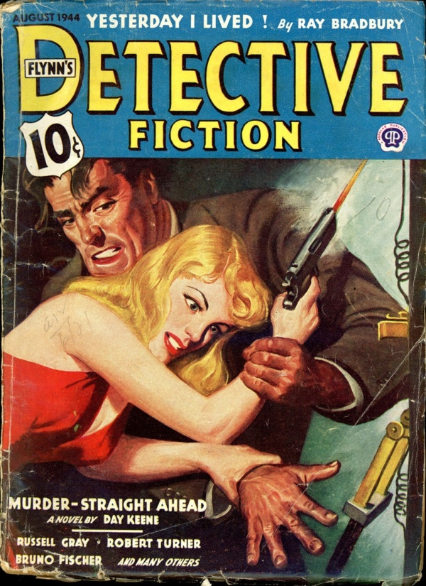 FLYNN'S DETECTIVE FICTION. August 1944