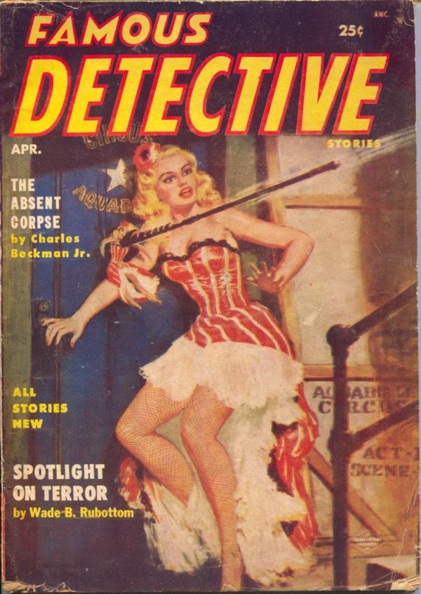 Famous Detective April 1955