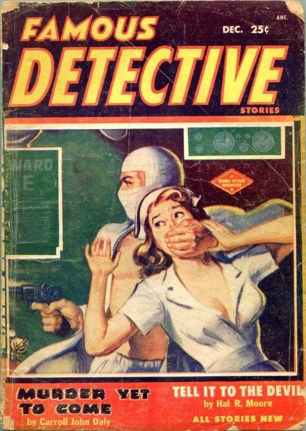 Famous Detective Stories December 1954