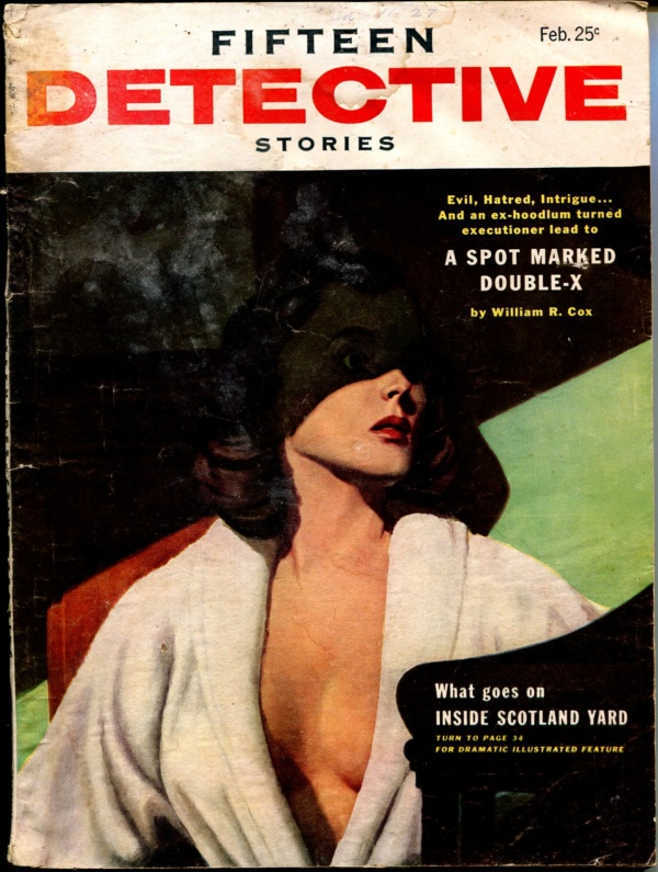 Fifteen Detective Stories December 1955