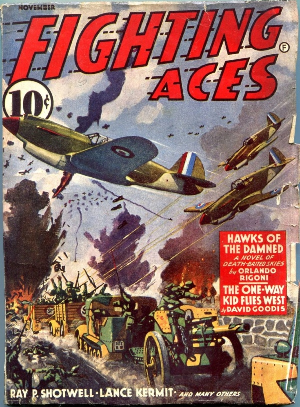 Fighting Aces November 1941
