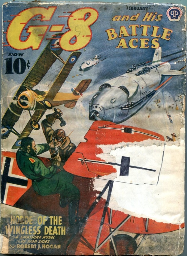 G-8 And His Battle Aces February 1941