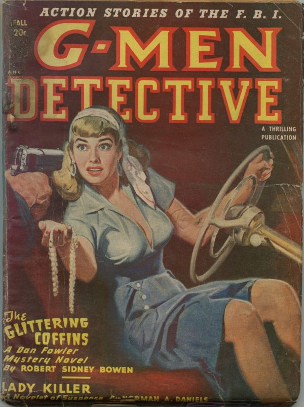 G-Men Detective Magazine Fall 1949