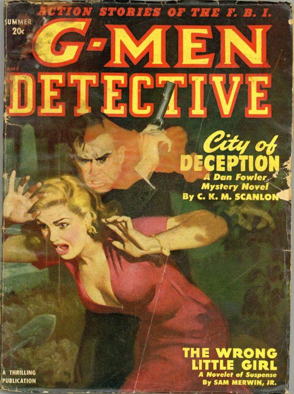 G-Men Detective Pulp June 1950