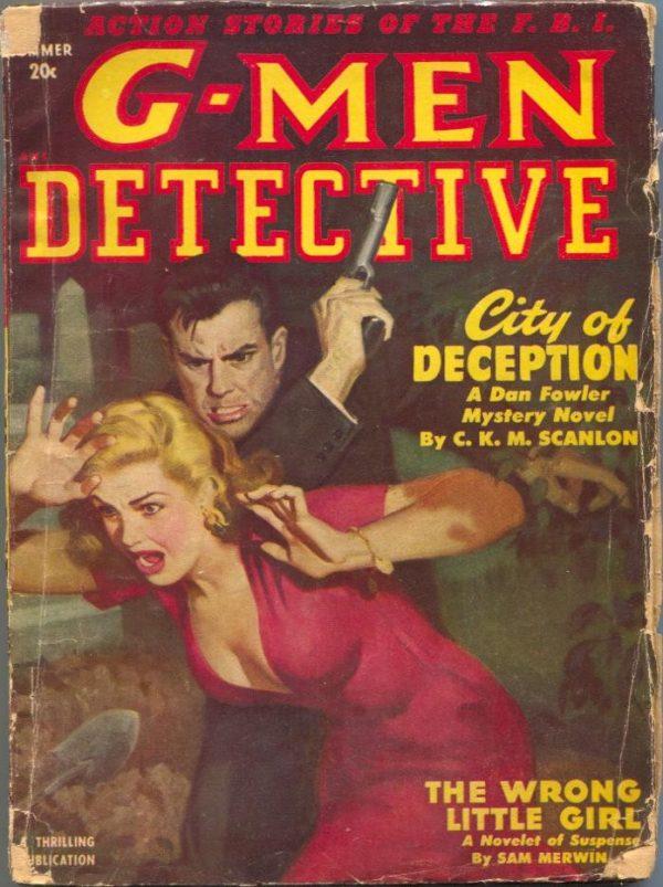 G-Men Detective Summer 1950