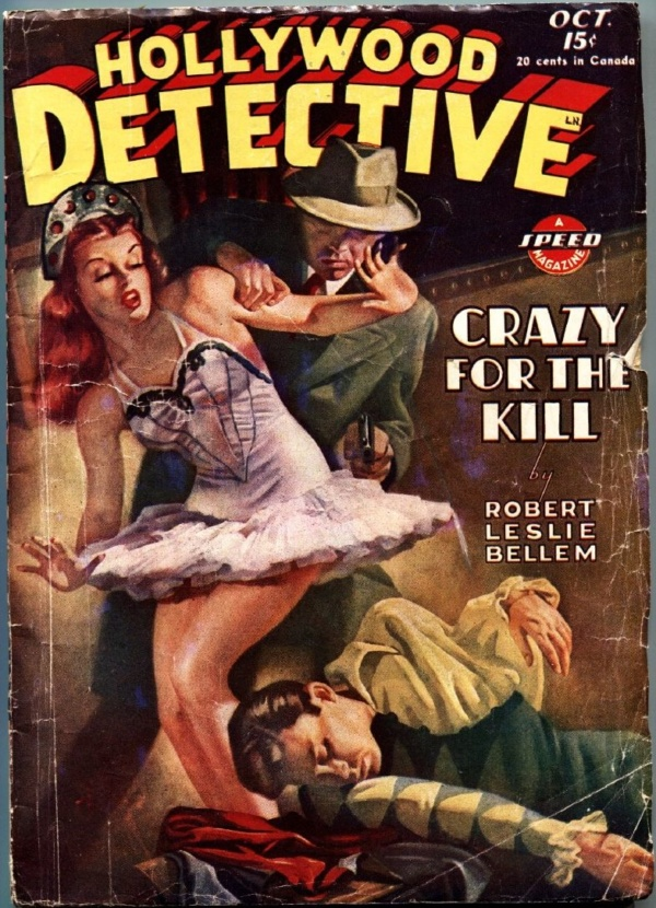 Hollywood Detective October 1945