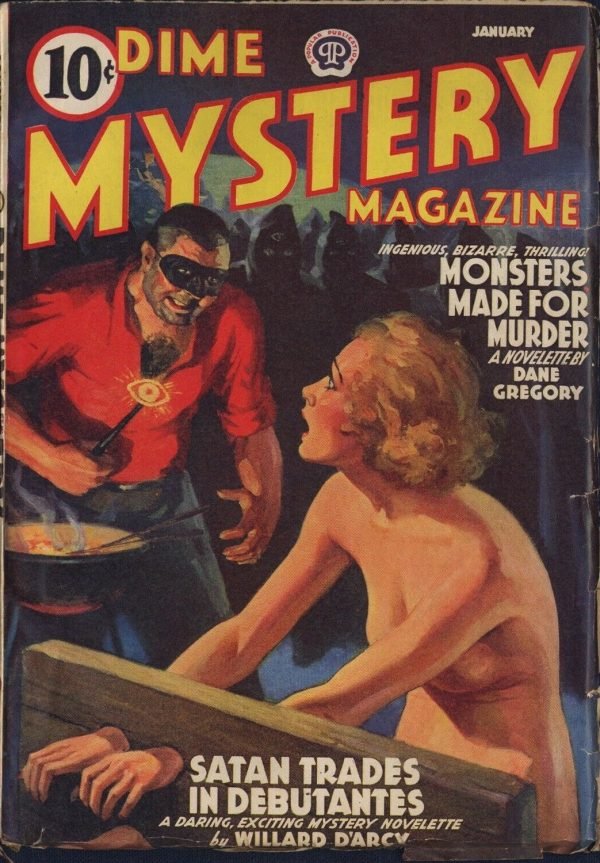 January 1940 Dime Mystery Magazine