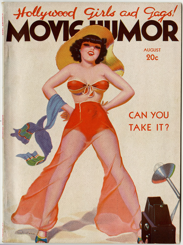 Movie Humor August 1937