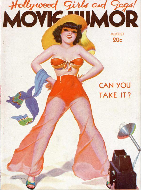 Movie Humor August 1937