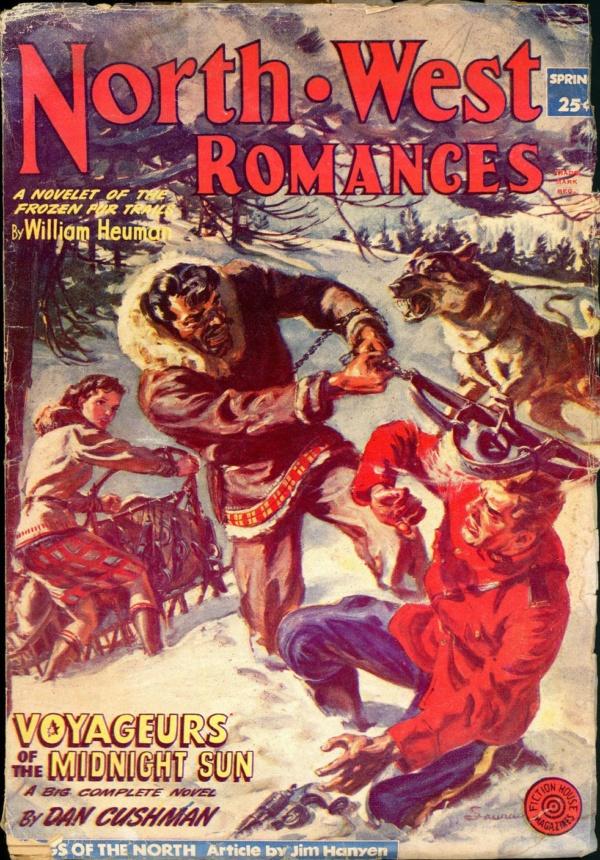 NORTH WEST ROMANCES. Spring 1953