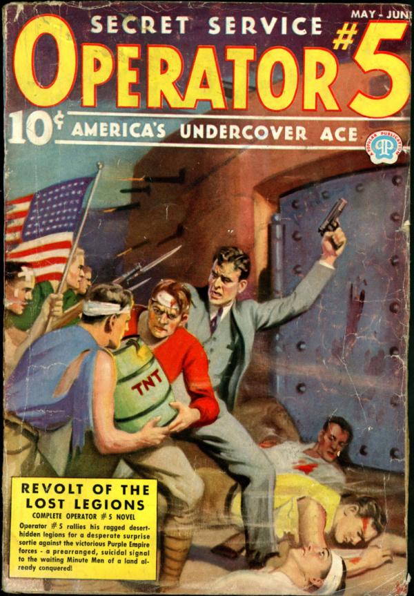 OPERATOR #5. May-June 1937