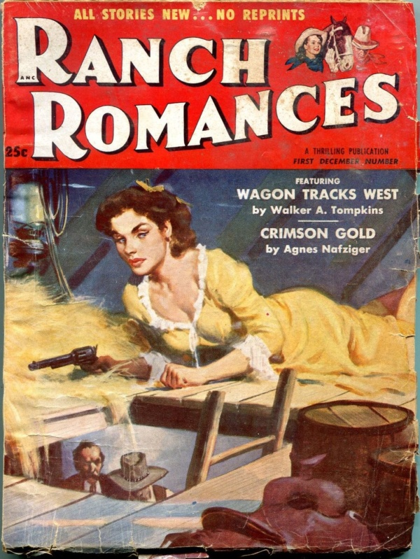 Ranch Romances December 1954