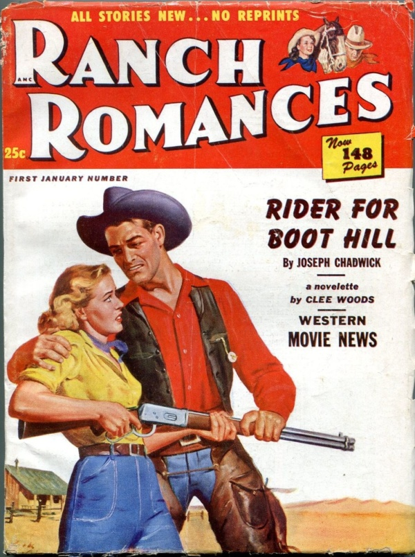 Ranch Romances January 1st 1951