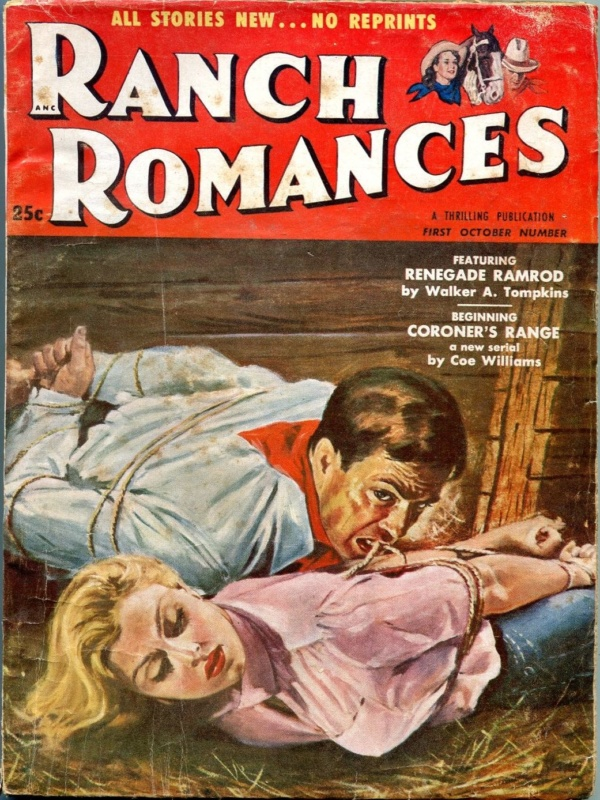 Ranch Romances October 1954