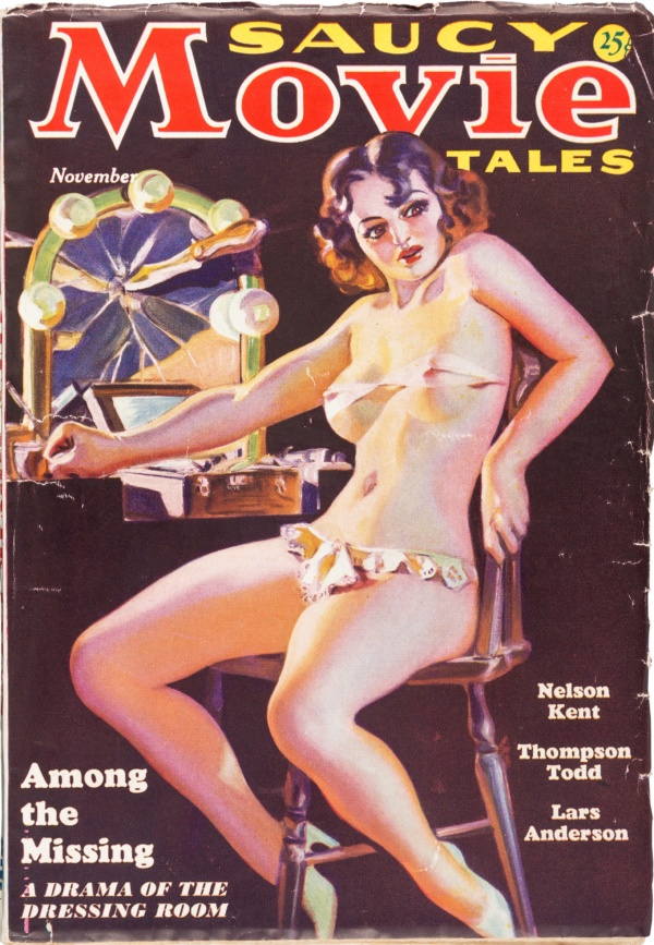 Saucy Movie Tales - November 1936