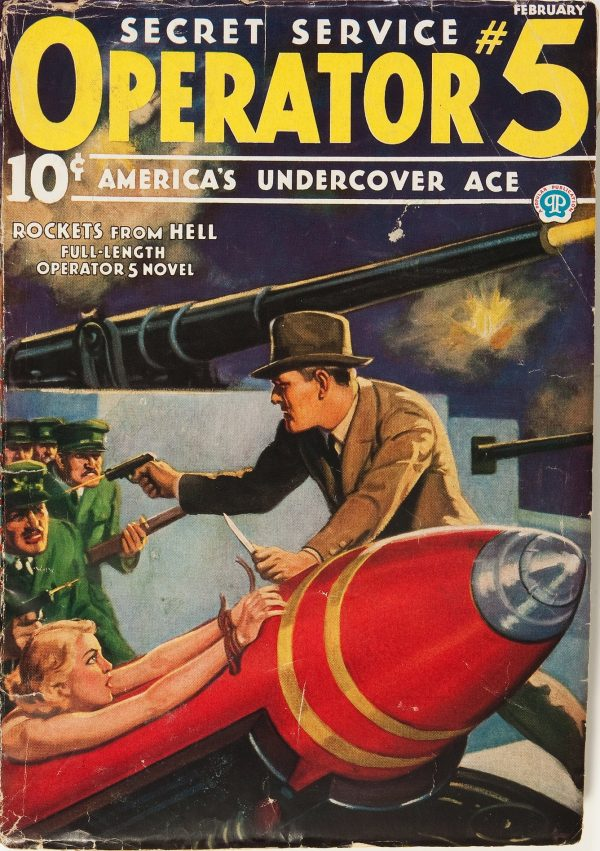 Secret Service Operator #5 February 1936