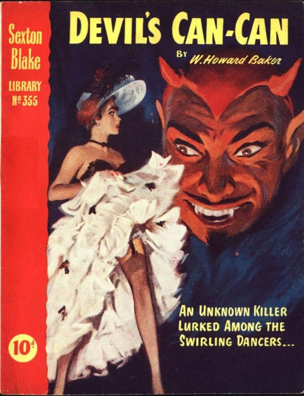 Sexton Blake Library S3 355 1956