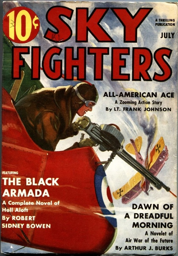 Sky Fighters July 1938