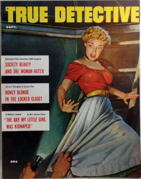 TRUE DETECTIVE magazine Sept 1956