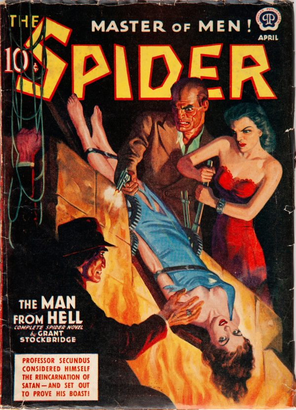 The Spider - April 1940