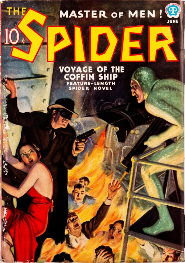 The Spider - June 1937