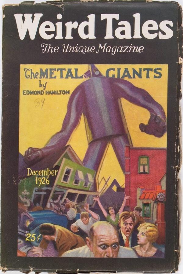 Weird Tales - December 1926