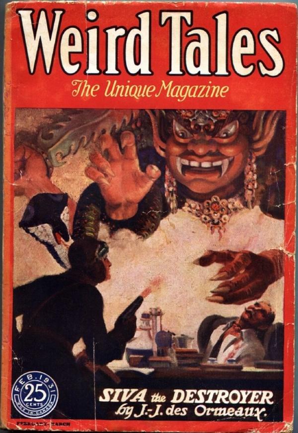 Weird Tales February 1931