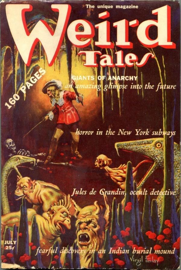 Weird Tales July 1939
