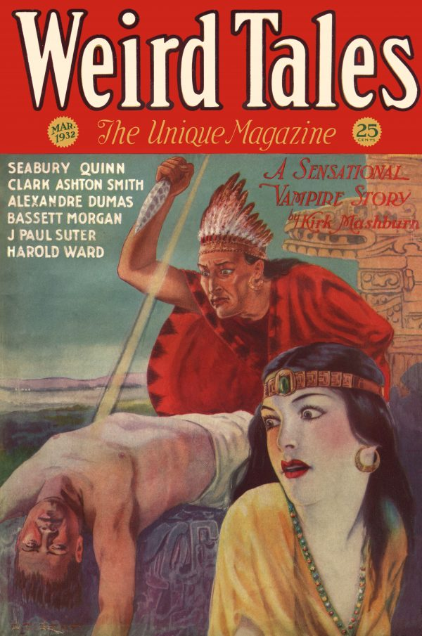 Weird Tales Magazine, March 1932
