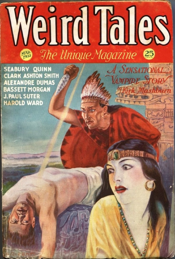 Weird Tales March 1932