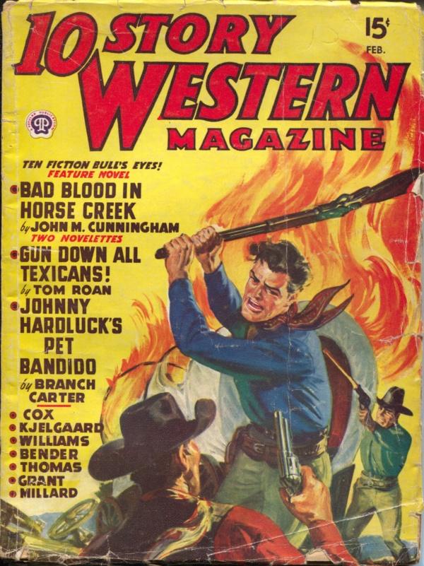 10 Story Western February 1949