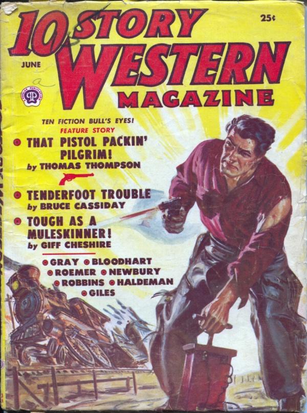 10 Story Western June 1951