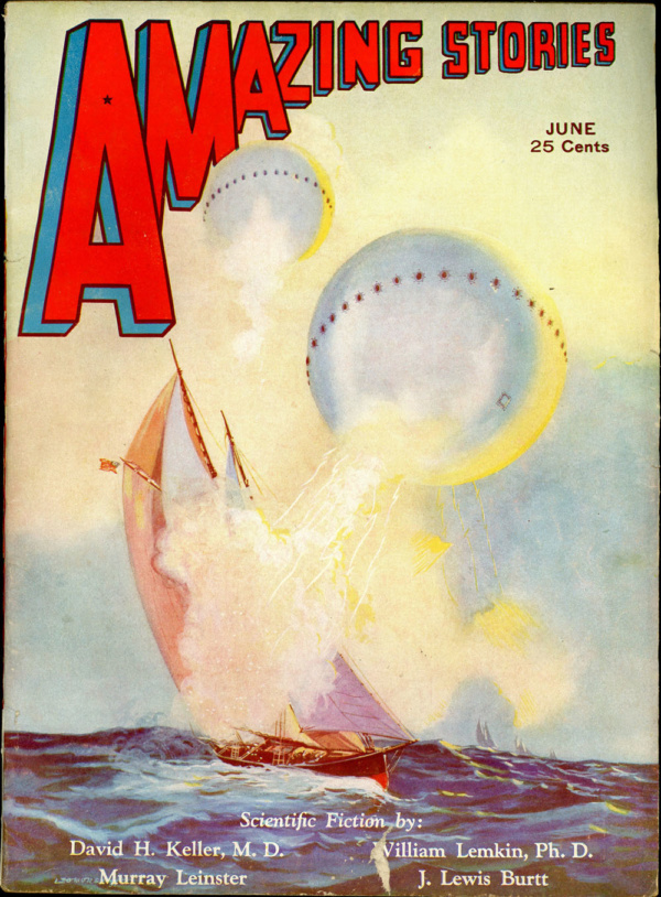 AMAZING STORIES. June 1932
