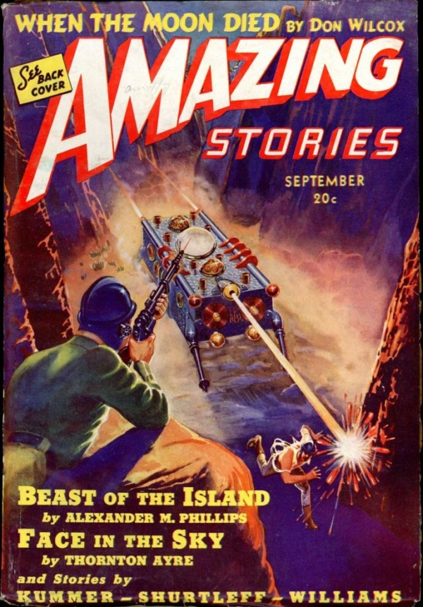 AMAZING STORIES. September, 1939